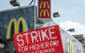 strike mcdonalds