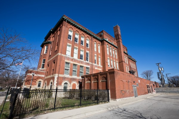 Evergreen Academy Middle School in McKinley Park, a neighborhood of Chicago on the Southwest Side